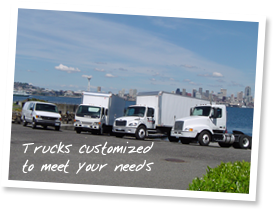 Trucks customized to meet your needs