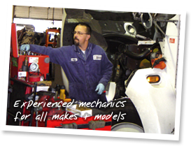 Experienced mechanics for all makes and models